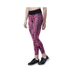 Women's Fila Animalistic Long Tight Pinky Daze Skin Print/Black