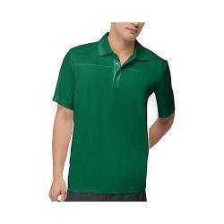 Men's Fila Core Color Blocked Polo Team Forest Green/White