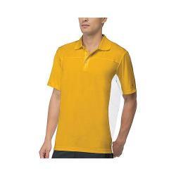 Men's Fila Core Color Blocked Polo Team Gold/White