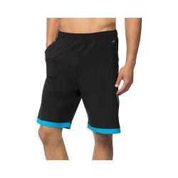 Men's Fila Platinum Short Black/Ocean Blue
