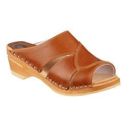 Women's Troentorp Bastad Clogs Mariah Napa Tan Leather