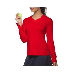 Women's Fila Core Long Sleeve Top Crimson