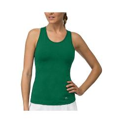 Women's Fila Core Racerback Tank Top Team Forest Green