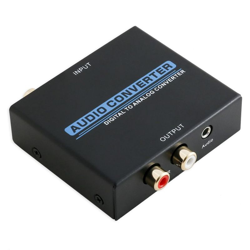 IO Crest Digital to Analog Audio Converter