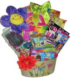 Doodles, Smiles and Fun Gift Basket (Ages 5 and up)