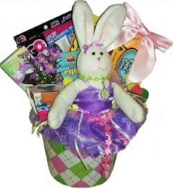 Bunny Hoppin Easter Gift Basket