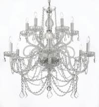 Venetian Style All Crystal Chandelier Lighting