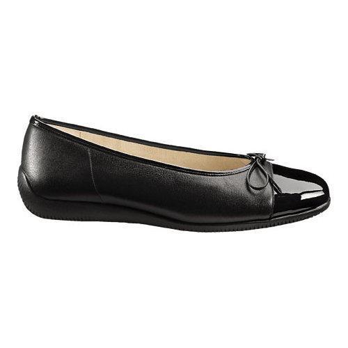 Women's ara Bella 43716 Black Leather/Patent