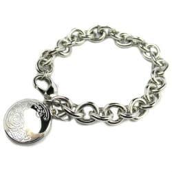 Flower Locket Bracelet - Thumbnail 0