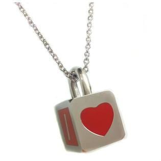 """I Love You Sister Padlock Pendant Necklace with 18"""" Chain"""