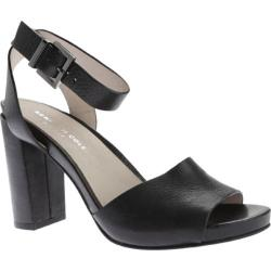 Women's Kenneth Cole New York Toren Ankle Strap Sandal Black Leather