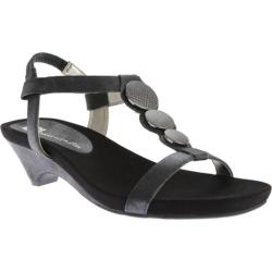Women's Anne Klein Tayla Sandal Black Synthetic