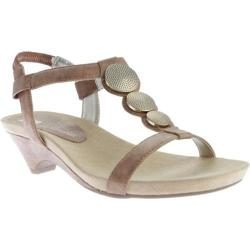 Women's Anne Klein Tayla Sandal Cognac Synthetic