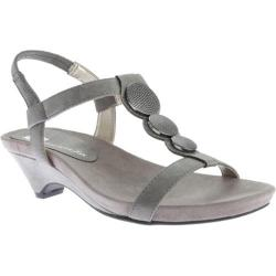 Women's Anne Klein Tayla Sandal Pewter Synthetic