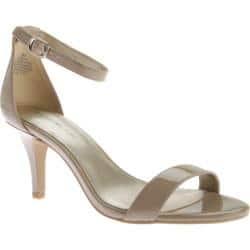 Women's Bandolino Madia Sandal Natural Synthetic|https://ak1.ostkcdn.com/images/products/98/971/P18196208.jpg?impolicy=medium