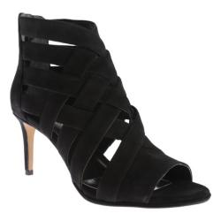 Women's Kenneth Cole New York Mercury Caged Sandal Black Suede