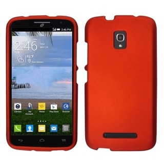 INSTEN Rubberized Hard Slim Snap-on Phone Case Cover For Alcatel One Touch Pop Mega