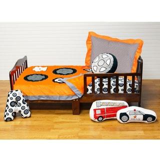 Teyo's Tires Toddler Comforter Set