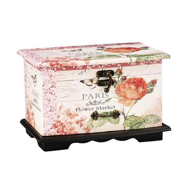 Household Essentials Paris Jewelry Box