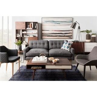 Aurelle Home Grey Club Chair