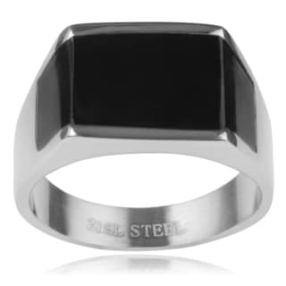 Vance Co. Men's Stainless Steel Ring