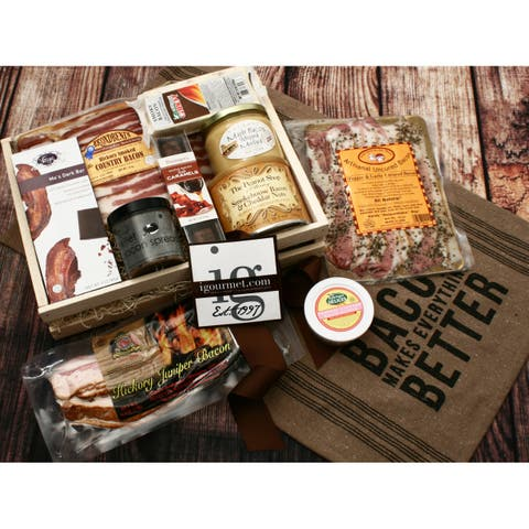 igourmet For The Bacon Lover Gift Crate