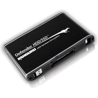 Kanguru Defender SSD Hardware Encrypted Secure USB3.0 External Solid