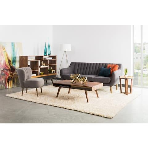 "Aurelle Home Mid Century Modern Coffee Table - 45"" x 24"""