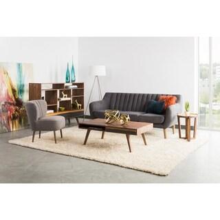 Aurelle Home Mid Century Modern Coffee Table