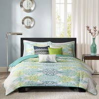 The Curated Nomad La Boheme 6-piece Quilted Coverlet Set