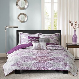 The Curated Nomad La Boheme Quilted 6-piece Coverlet Set