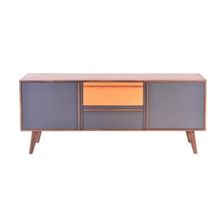 Aurelle Home Retro Cliff Wood Mid-century Style Sideboard