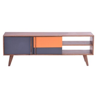 Aurelle Home Mid Century Modern TV Cabinet