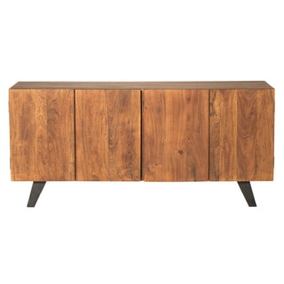 Aurelle Home Distressed Solid Wood Sideboard