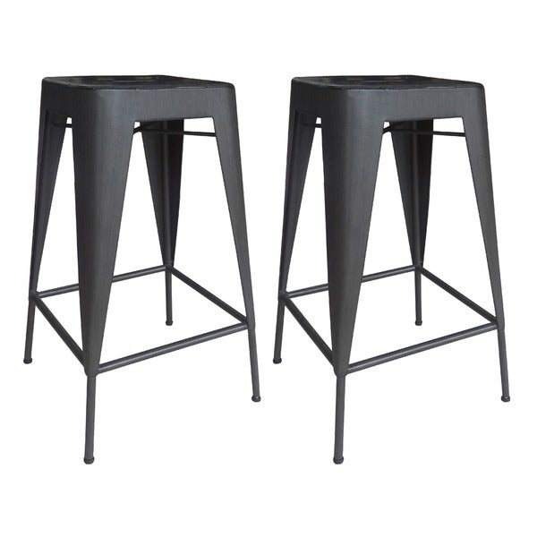 Aurelle Home French Bistro Counter Stool (Set of 2) - Aurelle Home French Bistro Counter Stool (Set Of 2) - Free