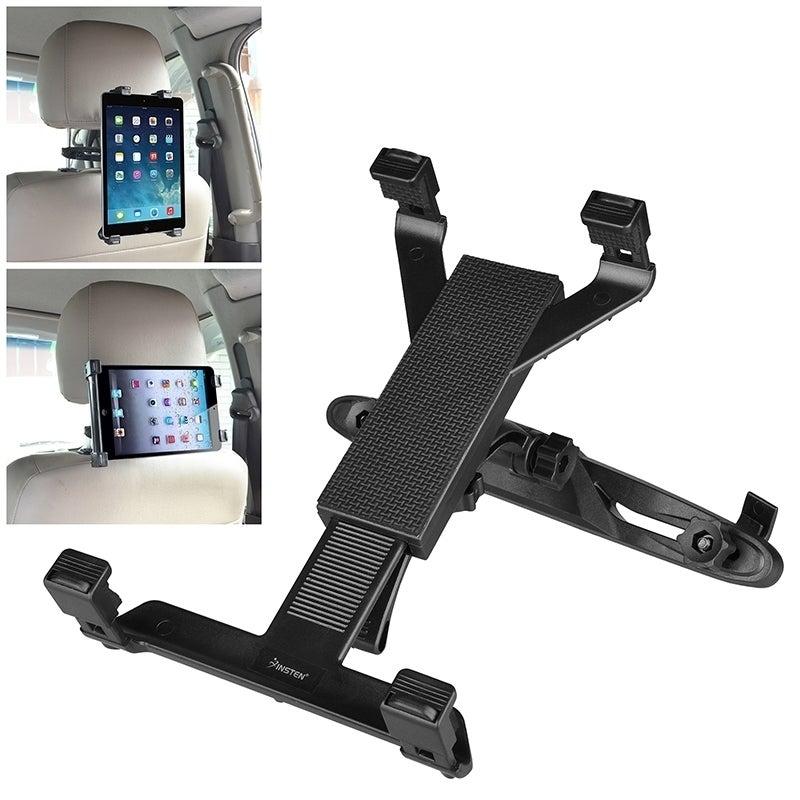 Insten Universal Car Headrest Tablet Holder For 10-inch D...