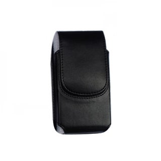 INSTEN Black Vertical Pouch Phone Case Cover With Magnetic Clip For Apple iPhone 5/ 5S/ SE