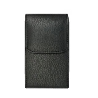 INSTEN Black Premium Vertical Pouch Phone Case Cover With Magnetic Flip For Samsung Galaxy S3 III i9300