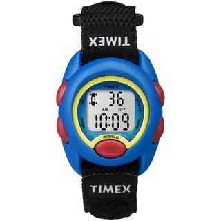 Timex TW7B996009J Kids' Kids Blue Digital Black Fast Wrap Watch