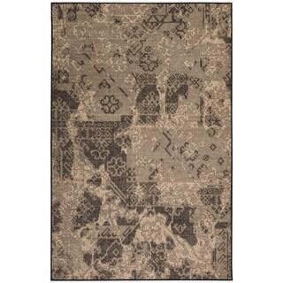 Liora Manne Ethnic Fragments Beige Indoor Rug (4'10 x 7'6)