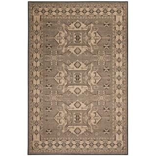 Liora Manne Ethnic Beige Chenille Indoor Area Rug (4'10 x 7'6)