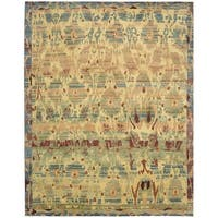 Hand-knotted Dune Gabbeh Area Rug (8'6 x 11'6) - 8'6 x 11'6