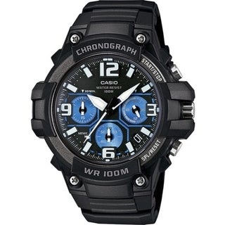 Casio Men's MCW100H-1A2V Chronograph Multifunction Wrist Watch