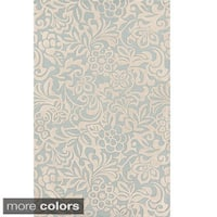 Hand-Tufted Sidney Floral Pattern Area Rug (3'3 x 5'3)