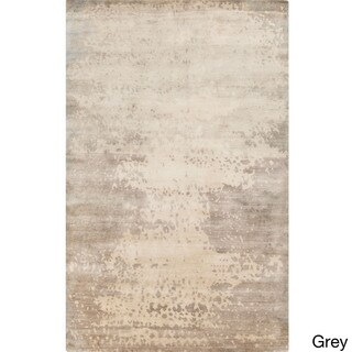 Hand-Knotted Shiloh Abstract Pattern Rug (5' x 8')