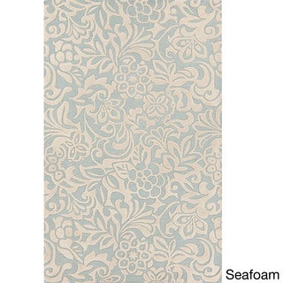 Hand-Tufted Sidney Floral Pattern Rug (5' x 8')