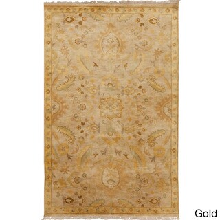 Hand-Knotted Tyrese Classic Style Rug (5' x 8')