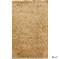 Hand-Knotted Tyrese Classic Style Area Rug - 5' x 8'
