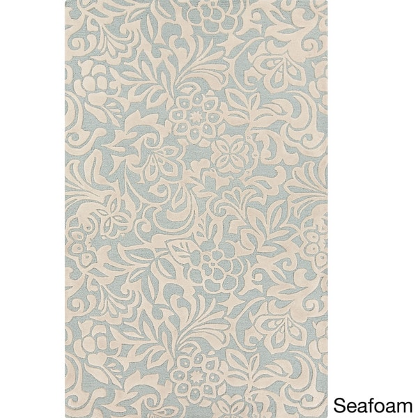 Hand-Tufted Sidney Floral Pattern Rug (8' x 11')