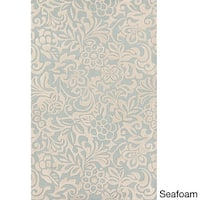 Hand-Tufted Sidney Floral Pattern Area Rug - 9' x 13'